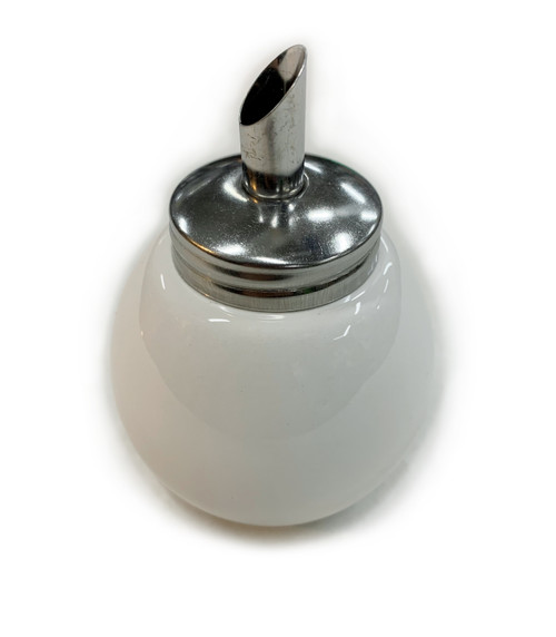 Ball Sugar Pourer, White