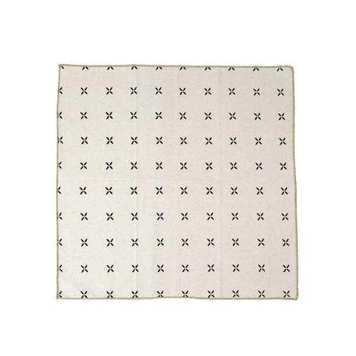 Cloth Napkin/Serviette, 4 Pack, 'Margherita' print