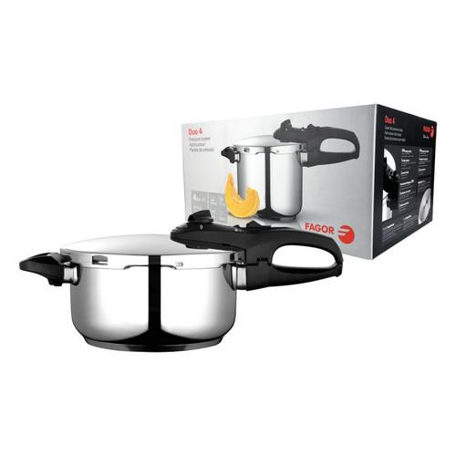 Duo Pressure Cooker S/S 4L