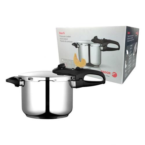 Duo Pressure Cooker S/S 6L