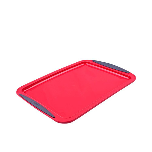 Silicone Baking Tray Red