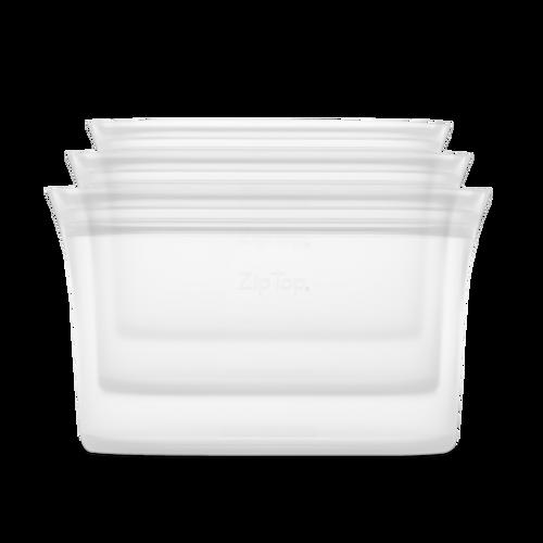Zip Top: Small, Medium, Large, Dish Set of 3