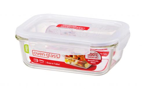 Boroseal, Heat Resistant Glass, Rectangular Container