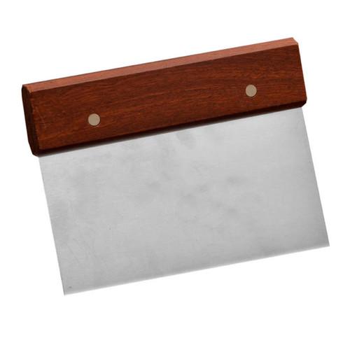 Dough Scraper Wooden Handle