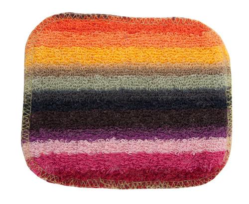 Single euroscrubby, regular size, multicoloured