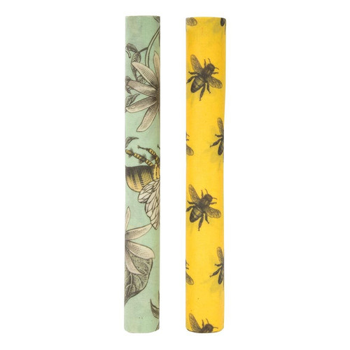 Bees Wax Wrap, 1 Metre Roll, 2 Assorted Prints