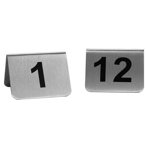 Table Number Small 'A'