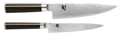 2 Piece Set, Chef's Knife 20cm &  Utility,  Shun