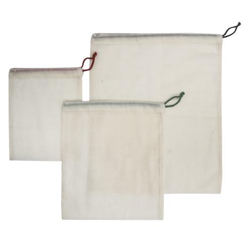 Cotton Mesh, Produce Bags, Set 3