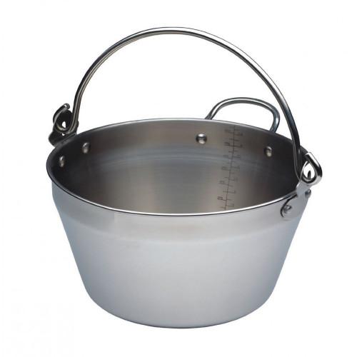 Mini Maslin Pan, Stainless Steel