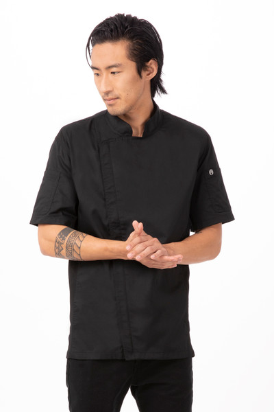 Chef Jacket Zipper