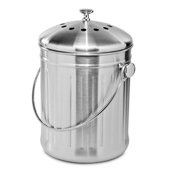 Compost Bin 3.8L Stainless Steel
