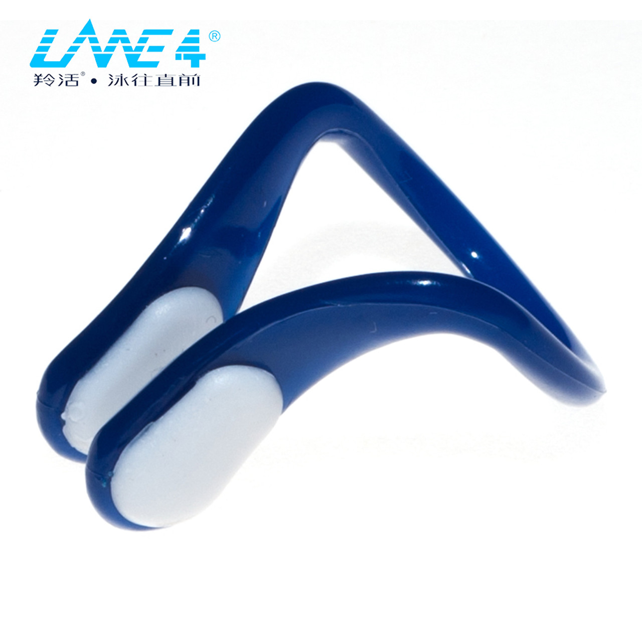 Soft Silicone Swimming Nose Clip with Storage Box for Adult Men Women Blue