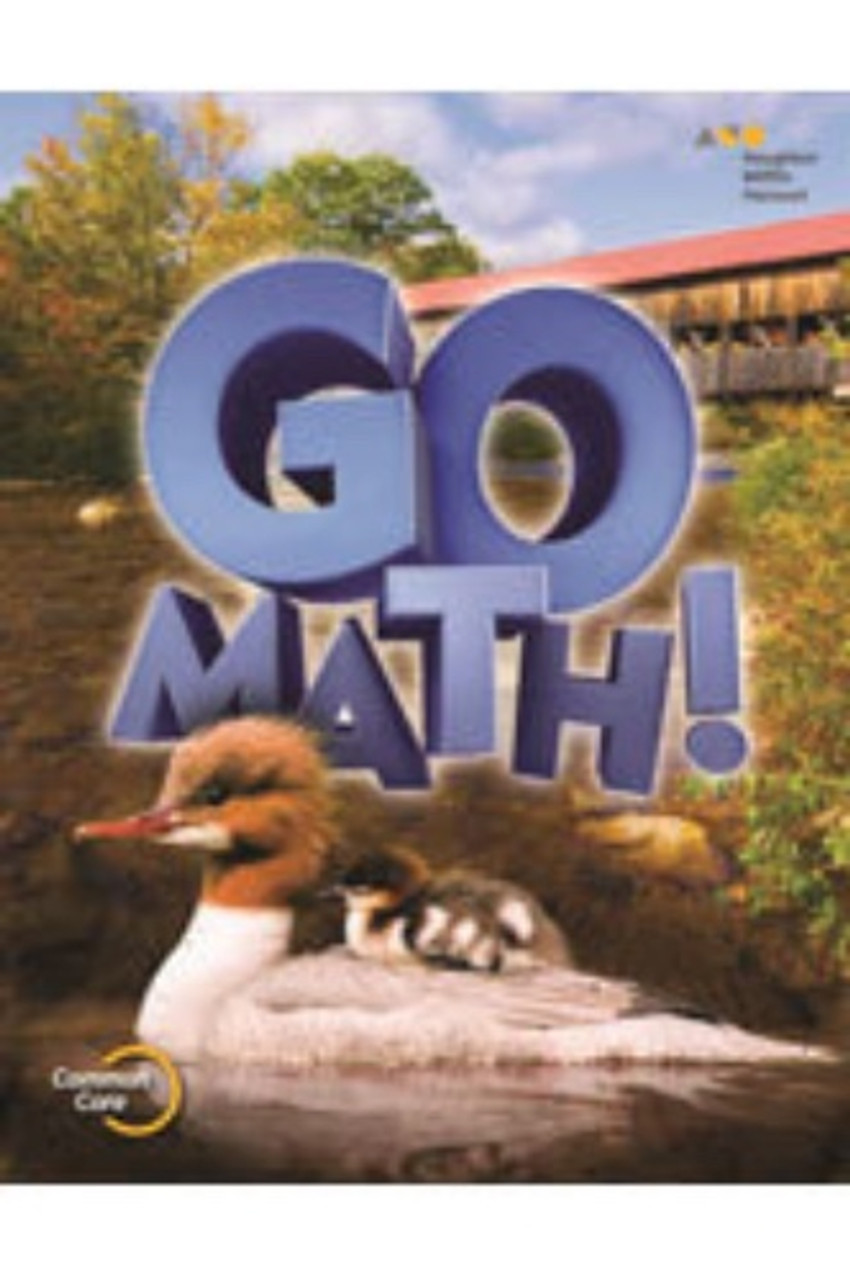 2nd Grade Go Math! Chapter Resource Blackline Master Set (2015)