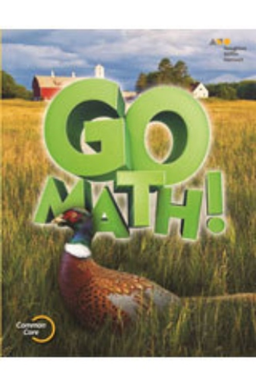 5th Grade Go Math Chapter Resource Blackline Master Set 2015