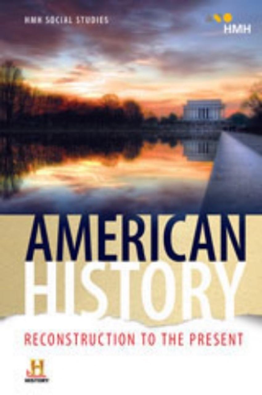 HMH Social Studies: American History Reconstruction to the Present Teacher  Edition Set (2018)