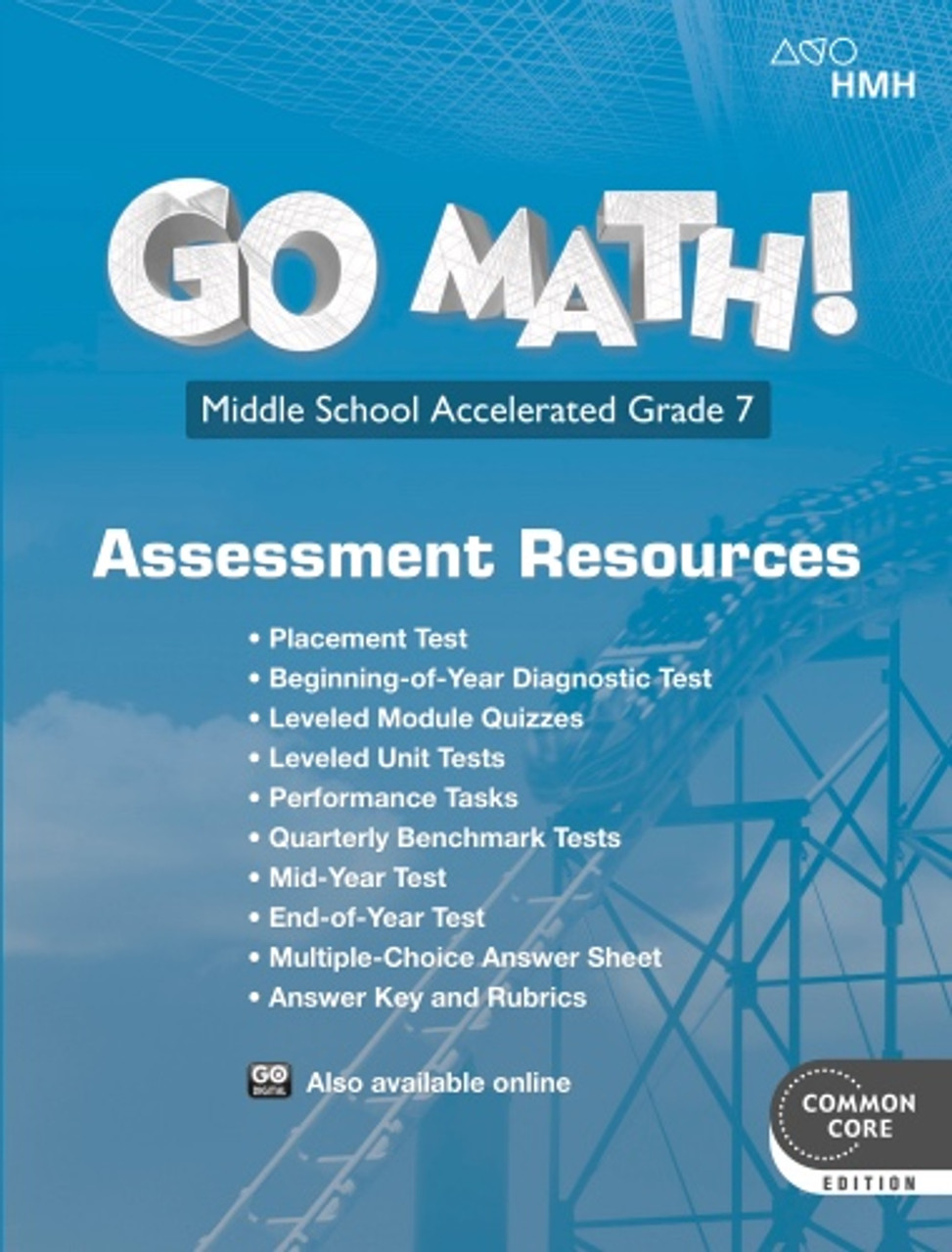 Go Math Grade 7 Accelerated Assessment Resource with Answers (2018)