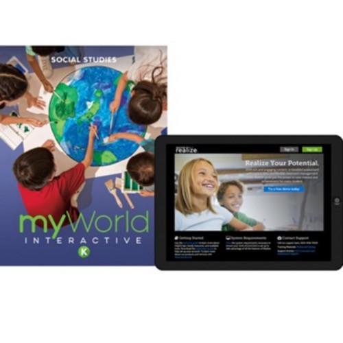 MyWorld Interactive Social Studies Homeschool Bundles for Grades K-8