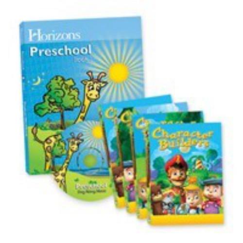 Horizons Preschool Complete Curriculum and Multimedia