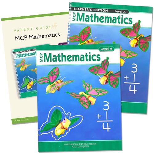 1st Grade MCP Mathematics Level A Homeschool Kit