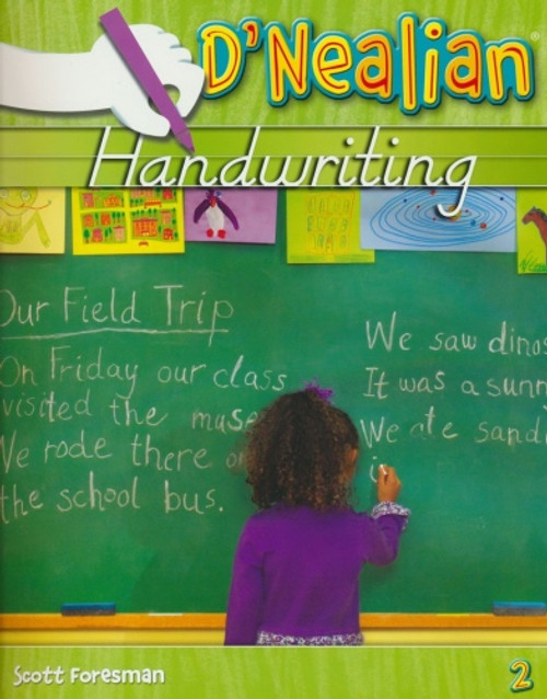 2nd Grade D'Nealian Handwriting Student Edition Consumable