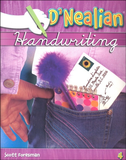 4th Grade D'Nealian Handwriting Student Edition Consumable