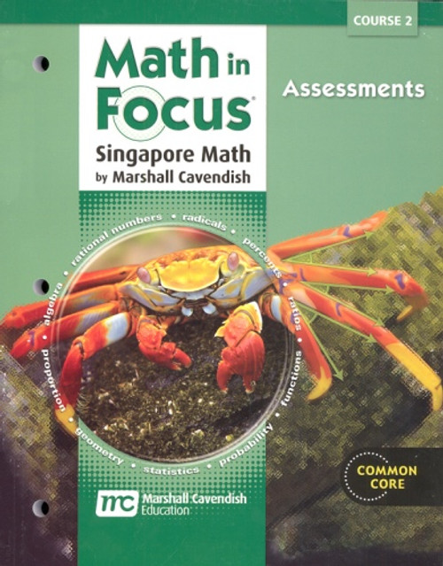 7th Grade Math in Focus Assessments Course 2 (2012)