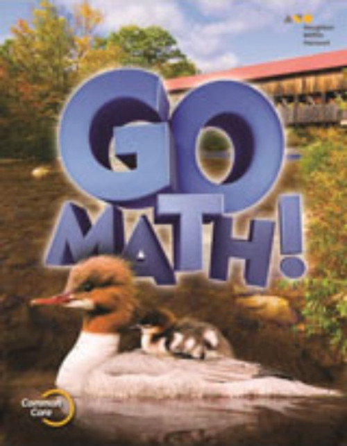 2nd Grade Go Math Student Edition Set 2015
