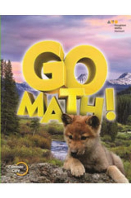 1st Grade Go Math Chapter Resource Blackline Master Set 2015
