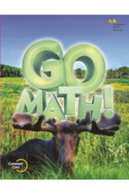 3rd Grade Go Math Chapter Resource Blackline Master Set 2015