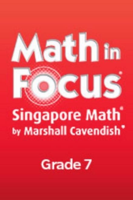 7th Grade Math in Focus Reteach Workbook Set Course 2 (2012)