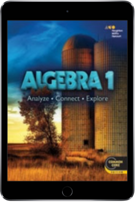 Algebra 1: Analyze, Connect, Exlpore Online Student Edition with Personal  Math Trainer 1 Year Subscription (2015)