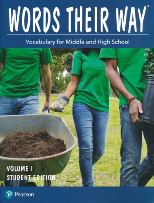 Words Their Way: Vocabulary for Middle & High School Student Edition Volume 1