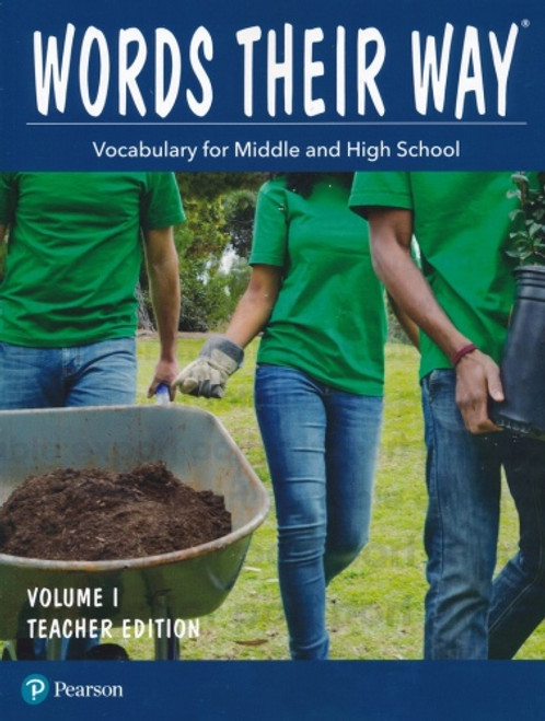 Words Their Way: Vocabulary for Middle & High School Teacher Edition Volume 1