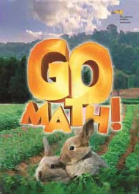 Kindergarten Go Math StA Chapter Resource Backline Master Collection 2016
