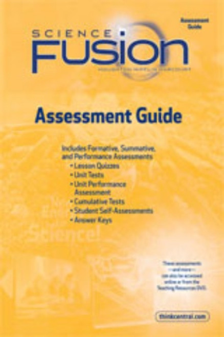 Grade 5 Science Fusion Assessment Guide