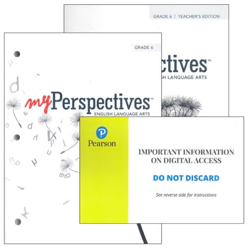 MyPerspectives English/Language Arts Homeschool Bundle for Grades 6-12