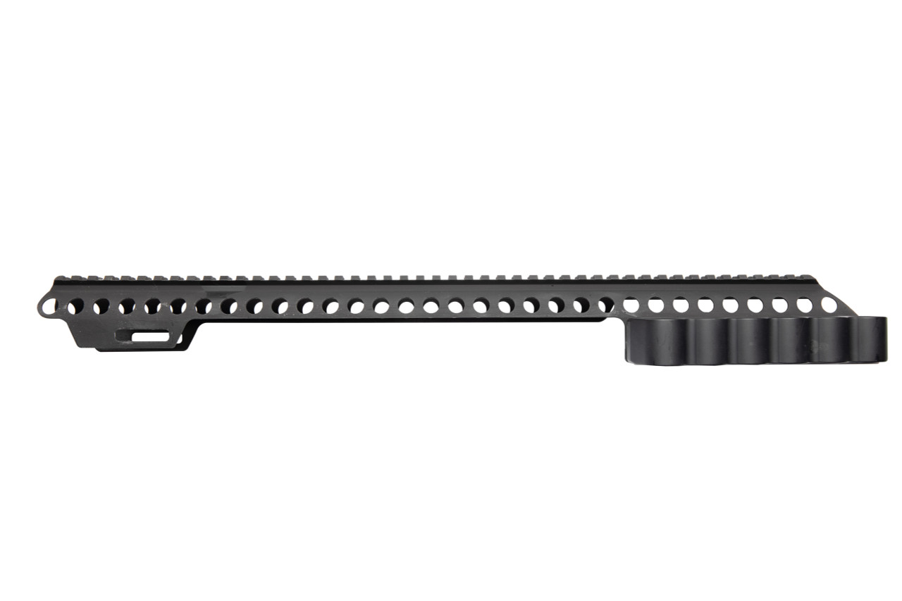 SureShell® Aluminum Carrier and Rail for Moss 590 Shockwave (6-Shell, 12-GA, 18 in)