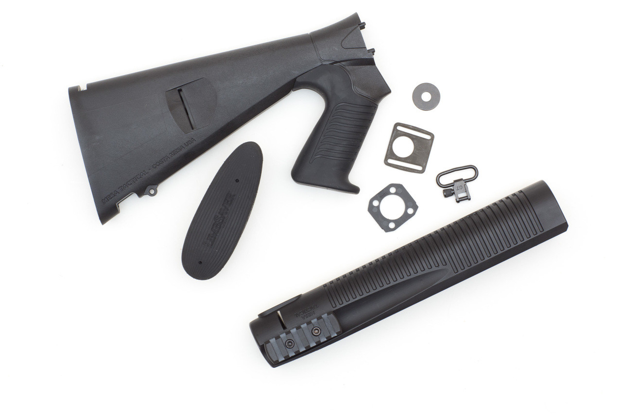 Urbino® Pistol Grip Stock And Mohawk Forend For Rem Versa Max (Limbsaver, 12-GA, Black)