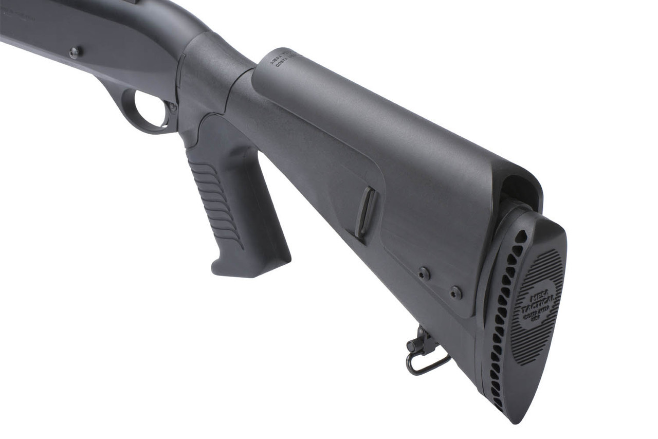 Urbino® Pistol Grip Stock For Ben M1/M2/M3 (Riser, Standard Butt, 12-GA, Black)