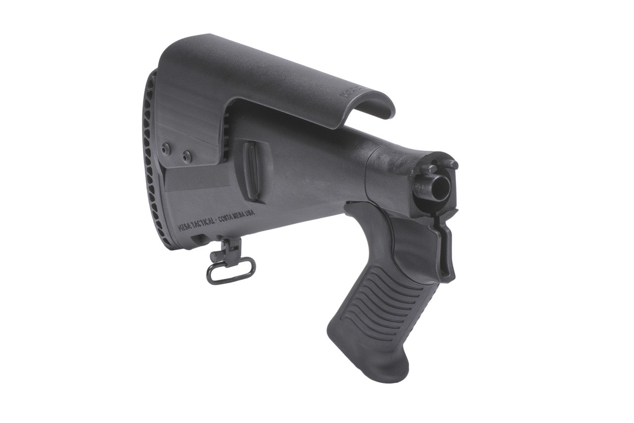 Urbino® Pistol Grip Stock For Mossberg 930 (Riser, Standard Butt, 12-GA, Black)