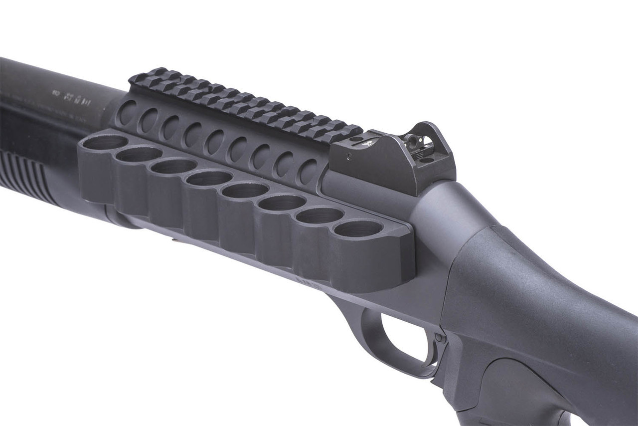 SureShell Carrier And Rail For Ben M4 (8-Shell, 12-GA, 5 1/2 In)