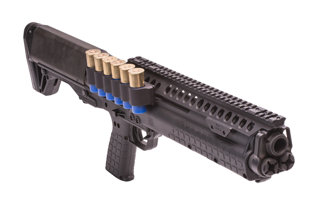 SureShell Carrier And Rail For Kel-Tec KSG (6-Shell, 12-GA, Right Side)