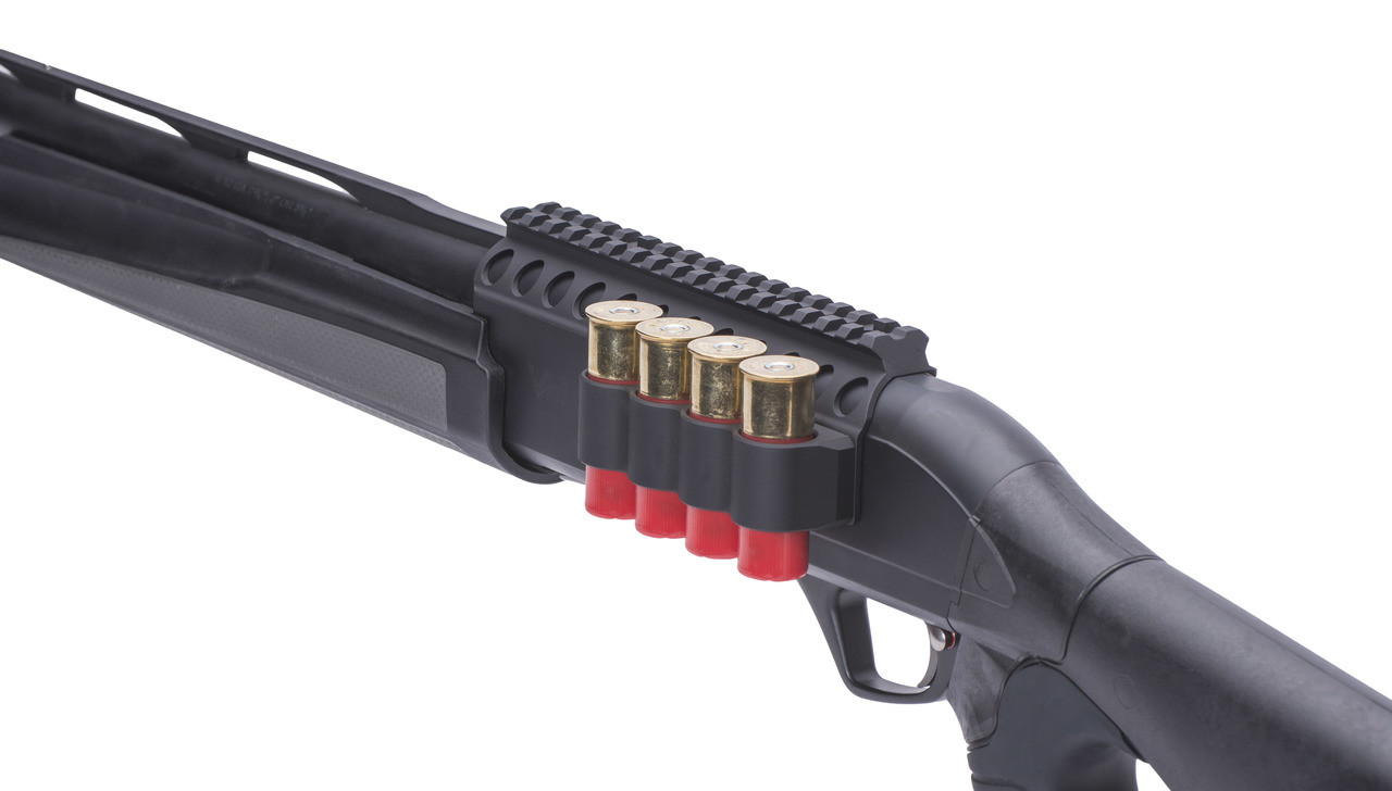 Sureshell® Carrier And Rail For Rem Versa Max (4-Shell, 12-GA, 7 In)