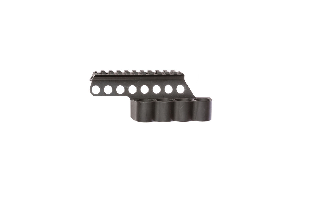 SureShell® Carrier And Rail For Moss 500/590A1/Mav88 (4-Shell, 12-GA, 4½ In)