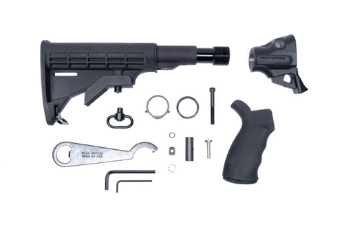 LEO® Gen II Telescoping Hydraulic Recoil Stock Kit for Rem V3 (12-GA)