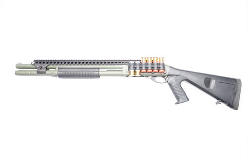 SureShell® Polymer Carrier And Saddle Rail For Rem 870 W/ Mag Clamp (6-Shell, 12-GA, 20 In)
