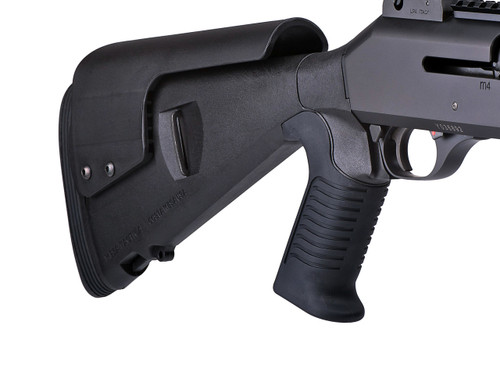 Urbino® Pistol Grip Stock For Ben M4 (Riser, Limbsaver, 12-GA, Black)