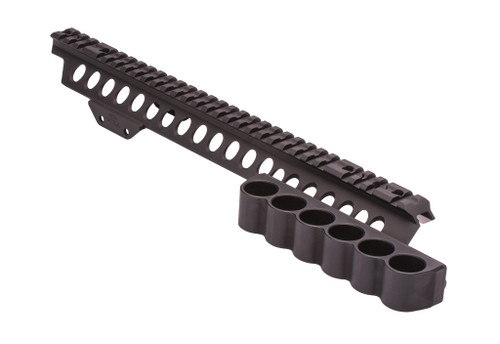 SureShell Carrier And Rail For Kel-Tec KSG (6-Shell, 12-GA, Left Side)
