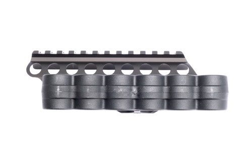 SureShell® Polymer Carrier And Rail For Moss 500/590A1/Mav88 (6-Shell, 12-GA, 4 1/2 In)